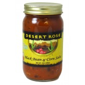 Desert Rose Black Bean & Corn Salsa